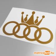Audi King matrica