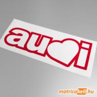 Audi love matrica