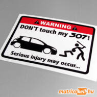 Don't touch my Peugeot 307 matrica