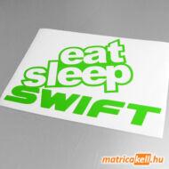 Eat sleep Swift matrica
