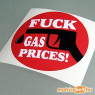 Fuck Gas prices! matrica