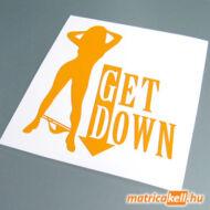 Get down matrica