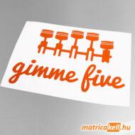 Gimme five matrica