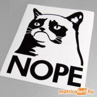 Grumpy cat matrica