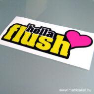Hellaflush love matrica