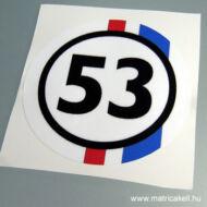 Herbie 53 matrica