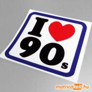 I love 90's matrica