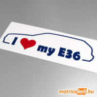 I love my BMW E36 touring matrica