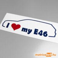 I love my BMW E46 touring matrica
