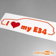 I love my BMW E34 touring matrica