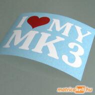 I love my MK3 matrica