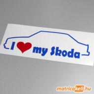 I love my Skoda 105 - 120 matrica