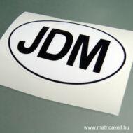 JDM felségjelzés matrica