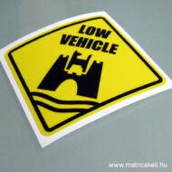 Low vehicle Wolfsburg VW matrica