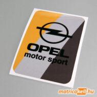 Opel Motorsport retro matrica