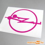Opel szex logo matrica