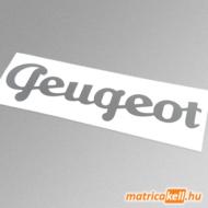 Peugeot retro felirat matrica