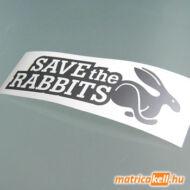 Save the Rabbits matrica