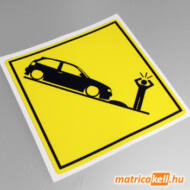 Seat Ibiza 6K speedbump matrica
