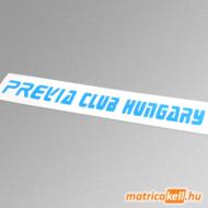 Toyota Previa Club Hungary matrica (felirat)