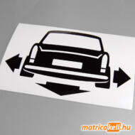 Down and Out Trabant matrica