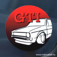 VW Golf 1 GTI matrica