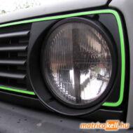 Volkswagen Golf 2 GTI hűtőrács keret matrica