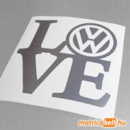 VW love matrica
