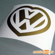 VW szív matrica