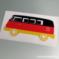 VW T1 T2 Transporter Busz trikolor matrica
