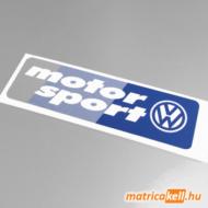 Volkswagen Motorsport matrica (v2)