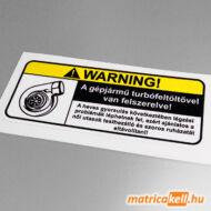 Warning Turbo matrica