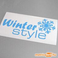 Winter style matrica