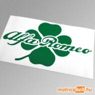 Alfa Romeo matrica lóherével