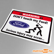 Don't touch my Ford matrica