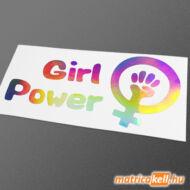 GirlPower hologramos matrica
