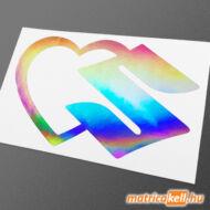 Suzuki love hologramos matrica