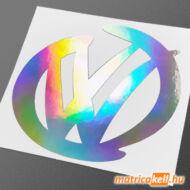 VW rajzos jel hologramos matrica