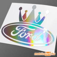 Ford king hologramos matrica