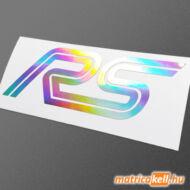 Ford RS logo hologramos matrica