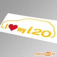 I love my Hyundai i20 matrica