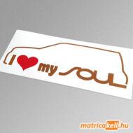 I love my Kia Soul matrica
