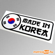 Made in Korea matrica