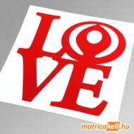 Mazda love matrica (régi emblémával)