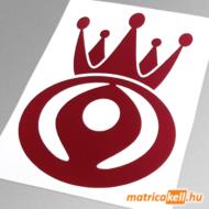 Mazda king matrica (régi emblémával)