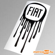 Megfolyt Fiat jel matrica