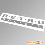 Retro society matrica