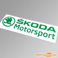 Skoda motorsport matrica