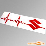 Suzuki szívdobbanás matrica (pulzus, ekg)