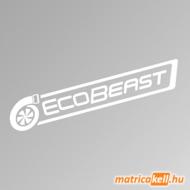Ecobeast szélvédőmatrica